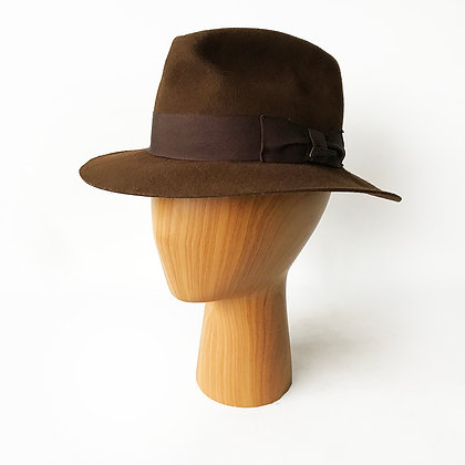 INDIANA JONES CLASSIC BROWN FEDORA
