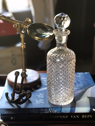 Diamond Crystal Whiskey Decanter