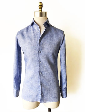 TBCO RESERVE BLUE LINEN SHIRT ON.jpg