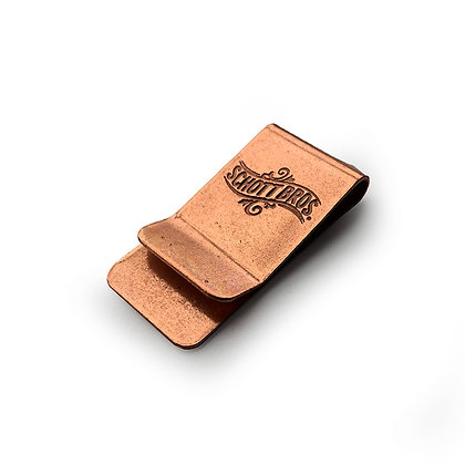 SCHOTT NYC COPPER MONEY CLIP