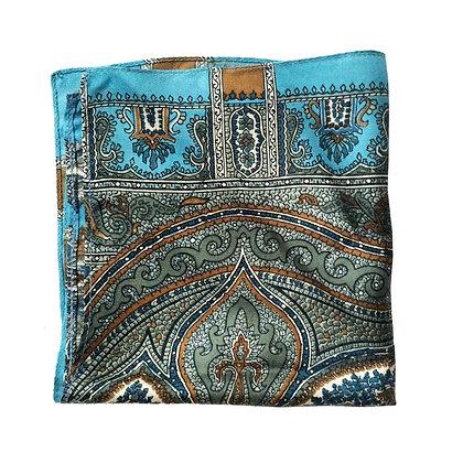 Vintage Silk Pocket Square