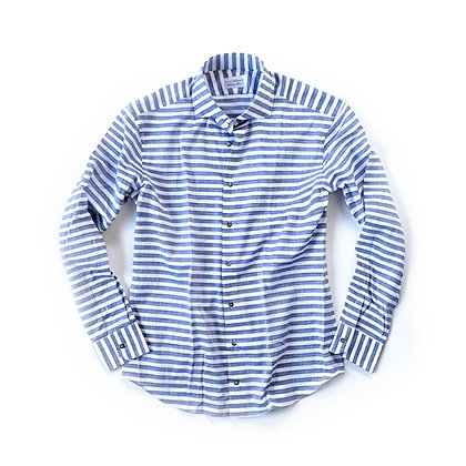 THE TBco. LINOSA STRIPED BUTTON UP SHIRT