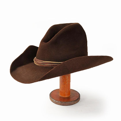 STETSON VINTAGE BROWN GUS HAT X4