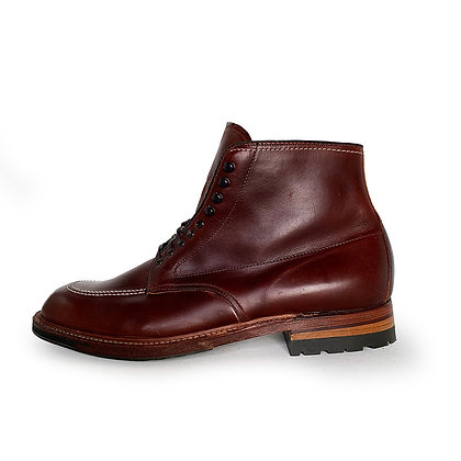 ALDEN CHROMEXCEL BROWN LEATHER INDY BOOTS LIMITED EDITION
