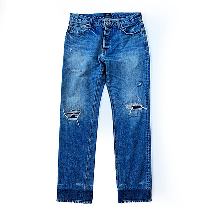 AZUL BY MOUSSY SELVEDGE DENIM JEANS