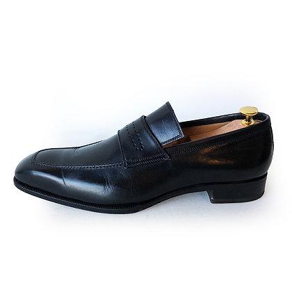 Bontoni Black Leather loafers