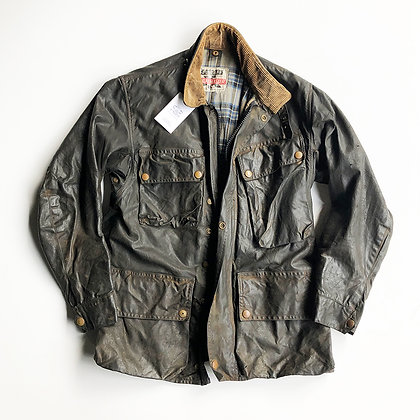 ORIGINAL VINTAGE 60s ERA BELSTAFF TRIALMASTER WAX CANVAS FIELD JACKET