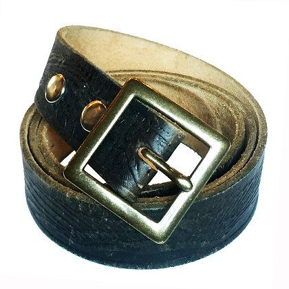 Vintage black belt