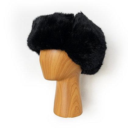 CHAOYANG BLACK MINK FUR HAT