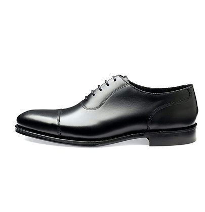 Loake 1880 Evans Cap Toe black Calf Leather