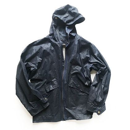BILLY REID waxed canvas parka rain jacket