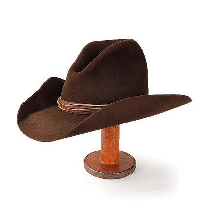 STETSON VINTAGE BROWN GUS HAT X4