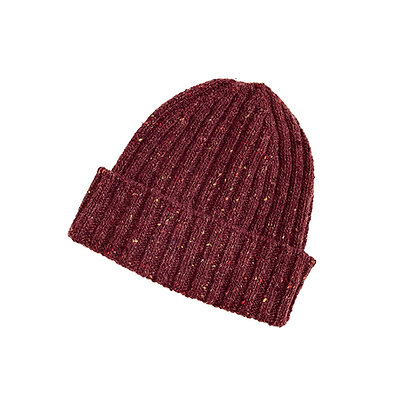 The Classic Ribbed Sailor Hat (burgundy)