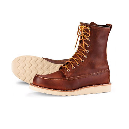 """RED WING 8"""" Heritage Classic Moc Toe Boots"""