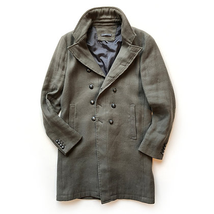 John Varvatos Green Trench Coat