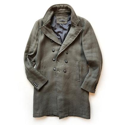 John Varvatos Green Trench Coat