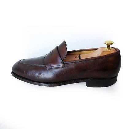 Edward Green Dark Brown Loafers