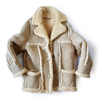 VINTAGE BAILEYS MADE IN ENGLAND STYLE SHEARLING JACKET