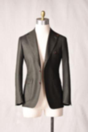 olive green brittish officer jacket vint