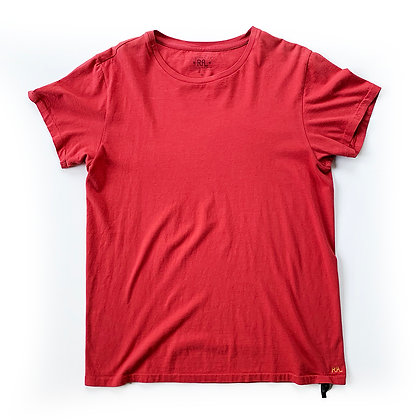 DOUBLE RL RED T-SHIRT