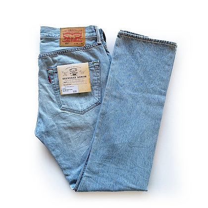 LEVIS 501 LIGHT DENIM JEANS