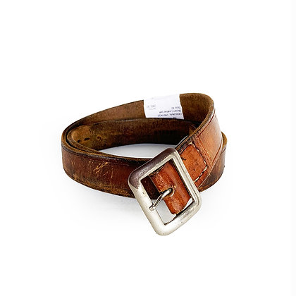 ORIGINAL VINTAGE BROWN LEATHER BELT