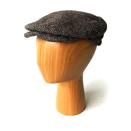 VINTAGE LOCK AND CO. HATTERS FLAT CAP BROOKS BROTHERS