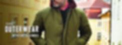 SCHOTT deck jacket donegal crew neck pra