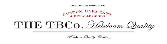 THE TBCo. Heirloom Quality 2020 website