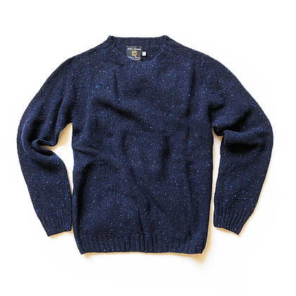 TBCo. RESERVE Navy Donegal Crew Neck Sweater