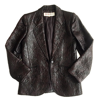 Saint Laurent Paris embroidered blazer