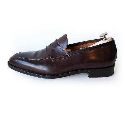 Bontoni Brown Leather Loafer