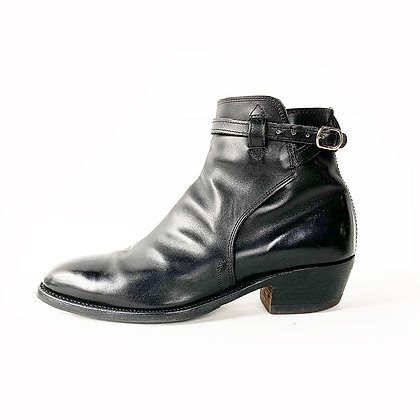 RM WILLIAMS BLACK LEATHER JOHDPUR CHELSEA BOOTS size 10.5