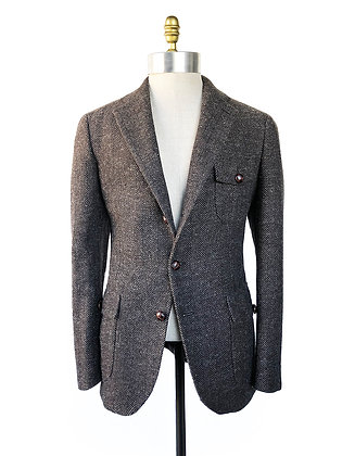 HARRIS TWEEDS HERRINGBONE HUNTER COLLECTION JACKET