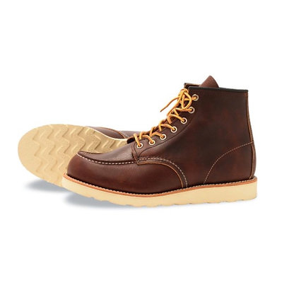 "RED WING 8138 6"" Heritage Moc Toe Boots"
