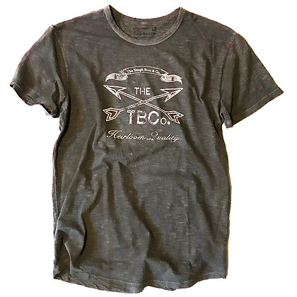 The TBCo. cross arrows faded Black T shirt