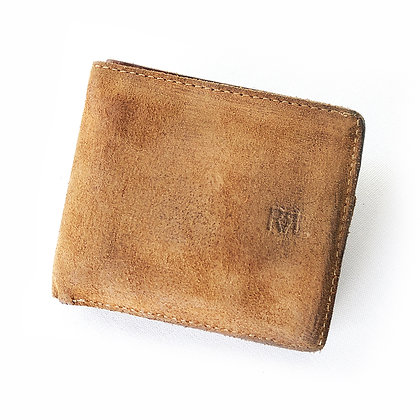 RRL DOUBLE RL RAW HIDE WALLET MADE IN NY