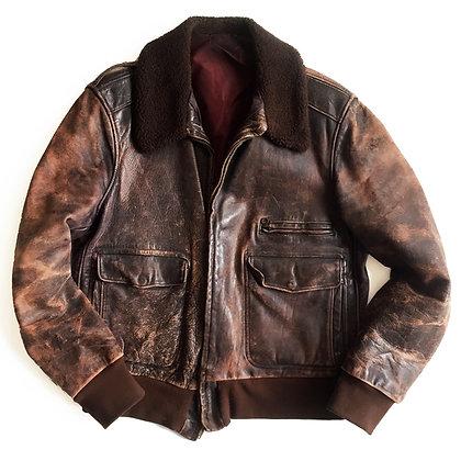 Bomber Pilot Leather Jacket