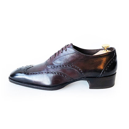 TOM FORD Oxblood Wing tip Brogue Shoes