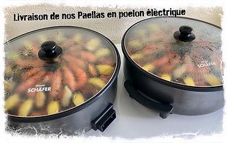 Livraison de Paella Gourmande en poelon électrique
