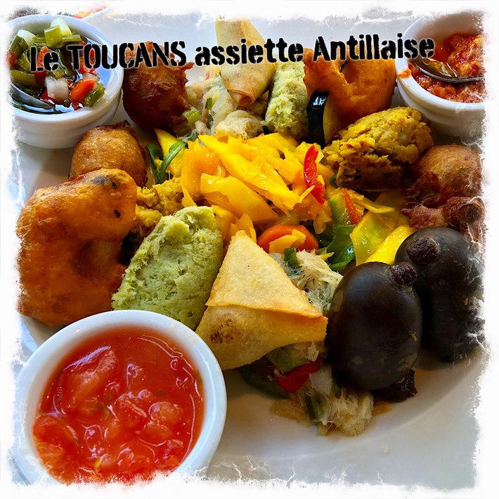 Assiette Créole Antillaise