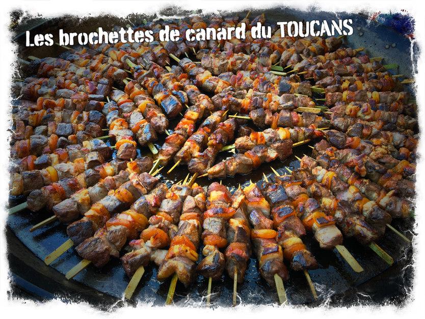 Brochettes de Canard
