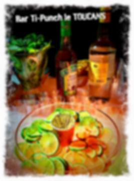 Ti-Punch Antillais au Rhum Bologne et sirop de canne