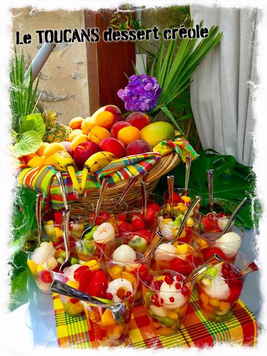 Desserts fruités créoles