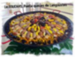 Paella queues de Langoustes