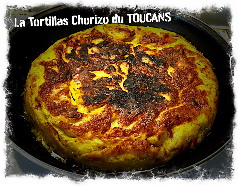 Tortillas pour le Tapas Bar