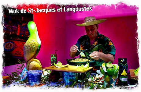 Animation Wok de St-Jacques
