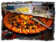 Paella crevettes poulet le TOUCANS PAELLAS