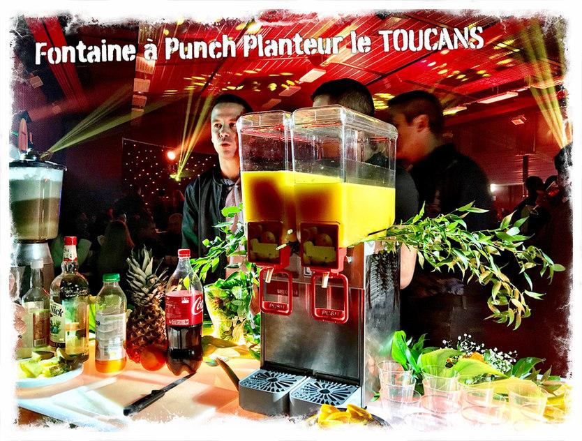 Fontaine Punch Planteur