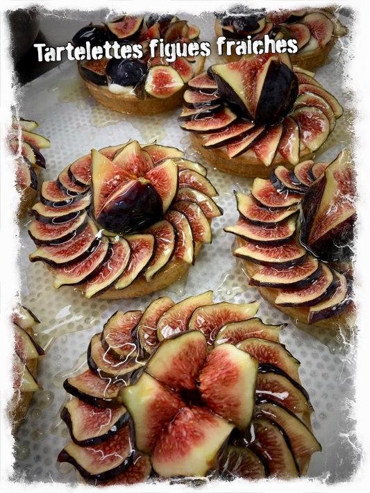 Tartelettes figues fraîches
